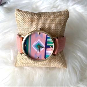 1990s Style Geneva SW Watch Pastels Western